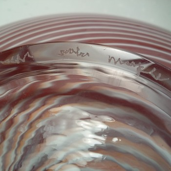Dose anyone recognize this art glass signature?