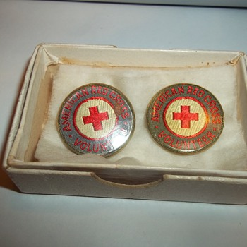 RED CROSS LAPEL PINS - Medals Pins and Badges