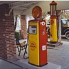 Gas pumps from our filling station.