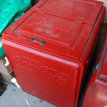 Vintage Coca Cola cooler - Coca-Cola