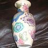 a unique oriental vase