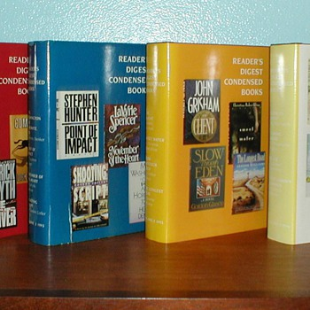 1992-1996 Reader's Digest Condensed Books - Books