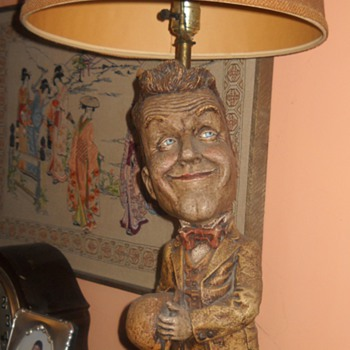 Stan Laurel Lamp