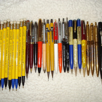 "ADVERTISING ""PENS AND PENCILS"" - Pens"