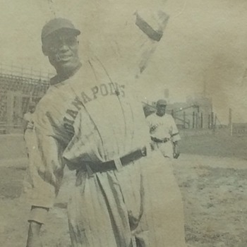 Negro League Baseball Player Crush Holloway - Baseball