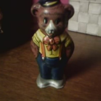 Wind Up Chein Bear Toy