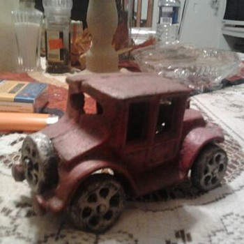 cast iron truck