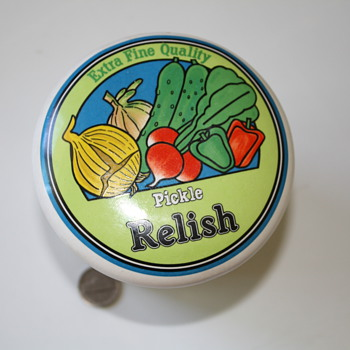 Relish Container ceramic