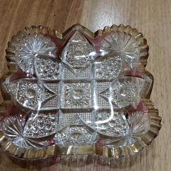 Pretty glass dish