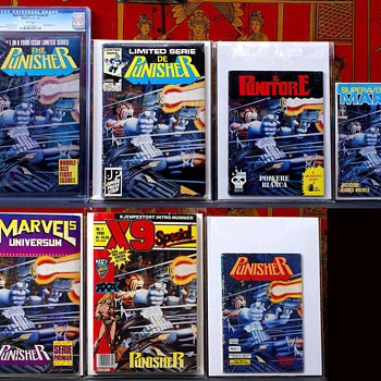 Punisher Limited #1 foreign set......