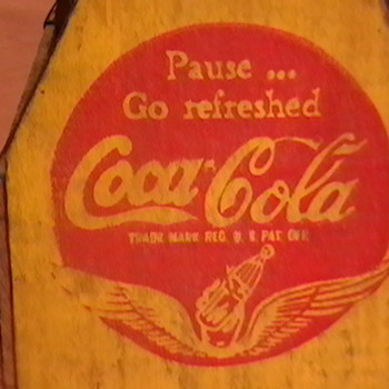 Original 1941 Coca-Cola 6 Pack Bottle Carrier