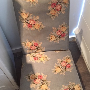 My favourite fabric on my favourite slipper chair