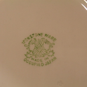Ironware made in occupied Japan - China and Dinnerware
