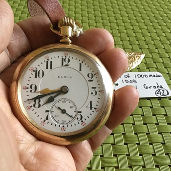 ANOTHER GREAT FIND --  AWESOME WATCH--  1 of  1000 made  !! - Pocket Watches