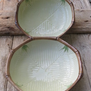 "9"" Asian Bamboo Bowls"