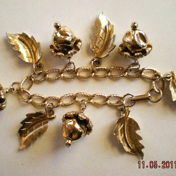 Church Fair Find ~ Charm Bracelet