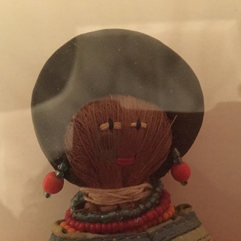 Vintage Seminole doll