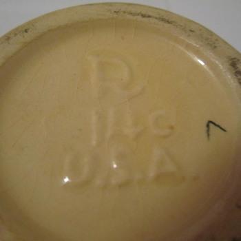 Roseville Creamer & Sugar ? - Pottery