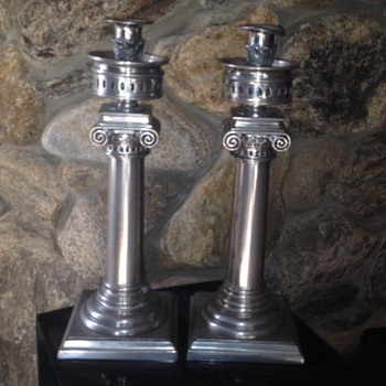 Hurricane Candle Sticks - Lamps