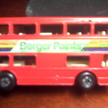 "Matchbox ""The Londoner"" Double Decker Bus - Model Cars"