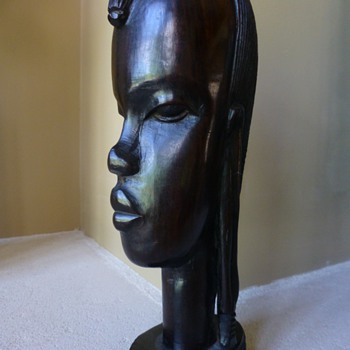 Hagenauer influenced  african  statue