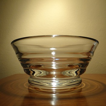 VINTAGE WILLIAM YEOWARD CRYSTAL - Art Glass