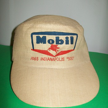 1965 Mobil Indy 500 hat - Hats