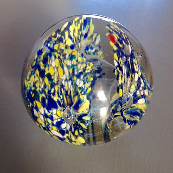 Mum's paper weight from late 60's early 70's - Art Glass