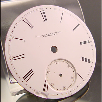 Private Label Pocket Watch Dial