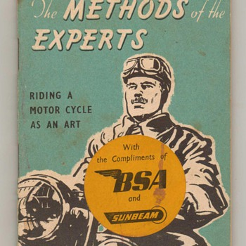 1957 - Methods of the Experts - Booklet - Paper