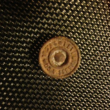 1873 to 1890 dated Levi Strauss & Co. button from Miner's overalls.