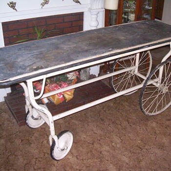 Funeral home cart