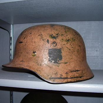 German Afrika Korps Helmet - Military and Wartime