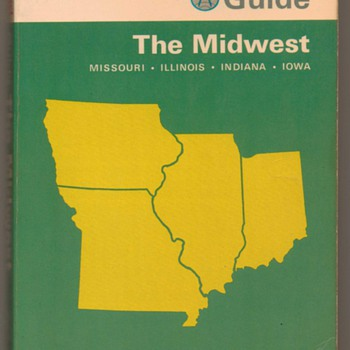 1969 - Guide to The Midwest - Books