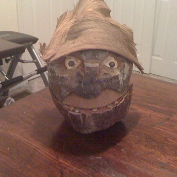 Coconut Heads - Folk Art