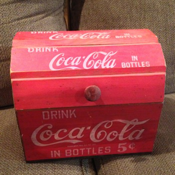 Coca-Cola Wooden Bottle Carrier ??