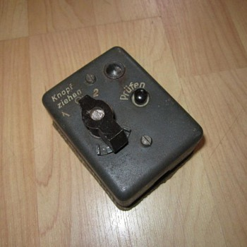 WWII German IFF Bediengerate Bg25a cockpit control box for FuG25a - Electronics