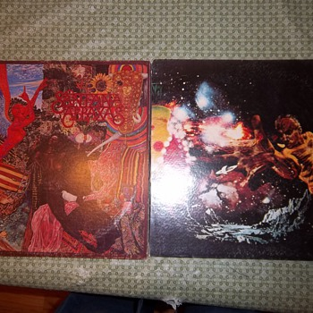 Vintage Santana records
