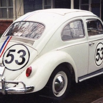 1962 VW Bug Rag Top &quot;HERBIE&quot;