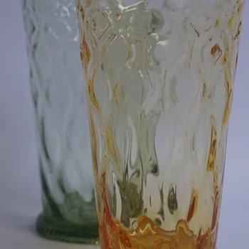 Whitefriars Woodchester Beakers - Art Glass