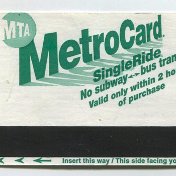 New York City Metro Cards 2000s