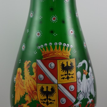 "Harrach vase in the ""Alt Deutsch"" (Old German) style, ca. 1860"