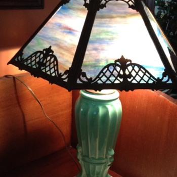 Panel Shade Lamp