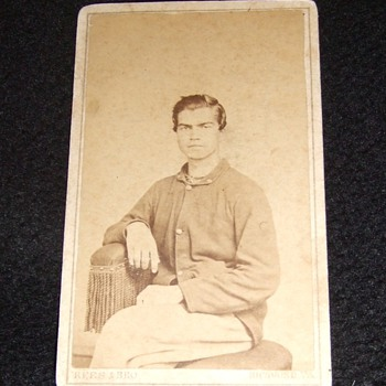 Union soldier in Occupied Richmond c. 1865