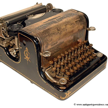 Granville Automatic typewriter - 1896