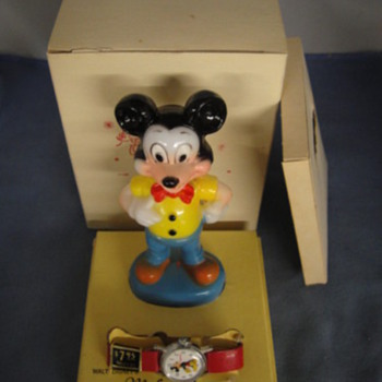 1958-71 Mickey Mouse Watch - Wristwatches