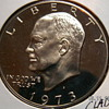 1973 S One Dollar Clad Proof Deep Cameo