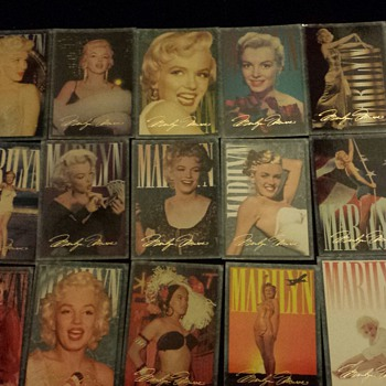 Marilyn Monroe Trading Cards 1993 Sport Time USA. - Cards