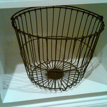 Wire Egg basket - Tools and Hardware