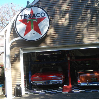 These are some Texaco signs from my late friends collection - Signs